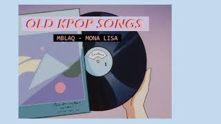 Oldies but Goodies Kpop Mix