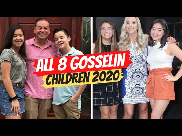 Jon and Kate Gosselin\'s All 8 Children\: Age, College, Relationship in 2020 | Who Do They Live With?