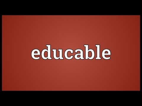 Header of educable