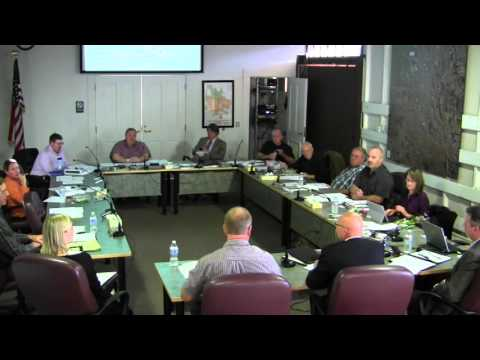 Lebanon Oregon City Council Work Session - Water Treatment Plant Update
