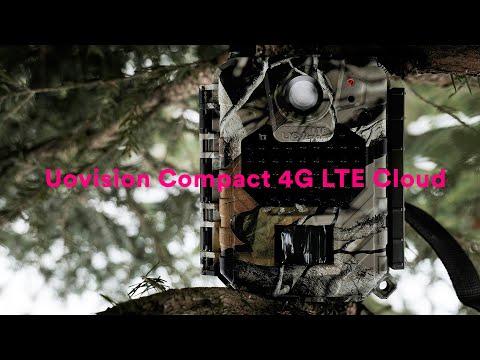 Riistakameran ominaisuudet esittelyssä: Uovision Compact 4G LTE Cloud 20MP Full HD