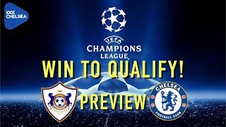 MUST WIN GAME! WIN TO QUALIFY! || QARABAG v CHELSEA || UCL PREVIEW