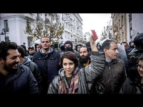 Protests in Tunisia amid revolution anniversary | German talks, a renewed grand coalition likely?