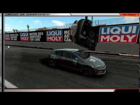 rFactor FLYING (Audi S3 and Volkswagen...