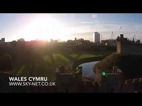 Croeso i Gymru / Welcome to Wales  Drone Eye View