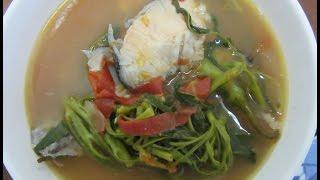 Sinigang na Salmon Recipe || Chel Javier #7