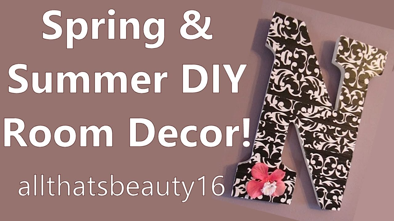 Diy Bedroom Decor Projects spring & summer diy room decor projects ♡ 2014 | allthatsbeauty16