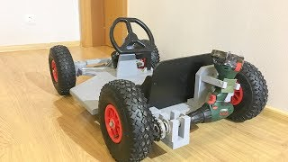 DIY Drill powered Go Kart thumbnail