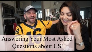 RELATIONSHIP Q&A | OUR DATING HISTORY, CO-PARENTING, BEING A STEP-PARENT, WHAT KEEPS US STRONG!