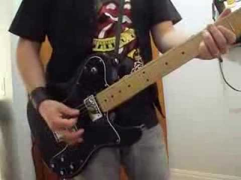 She´s So Cold - Rockinstones (Stones Cover) OPEN G GUITAR