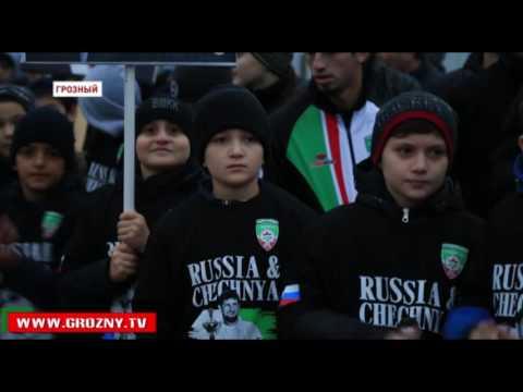 В Грозном состоялась церемония закладки капсулы под строительство олимпийского центра дзюдо