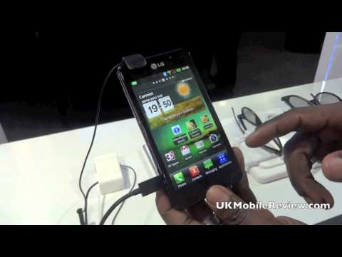 LG Optimus 3D Max Product Demo