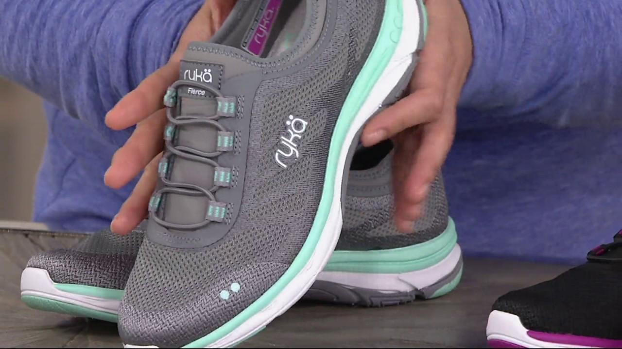 Ryka Mesh Slip-On Bungee Sneakers