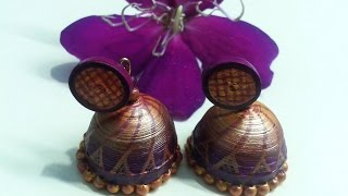 Paper earrings,Origami flower,Paper quilling,earrings designs,earrings models