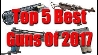 Top 5 Best Guns Of 2017