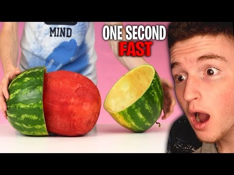 He Did This In ONE SECOND! (Fastest Workers)