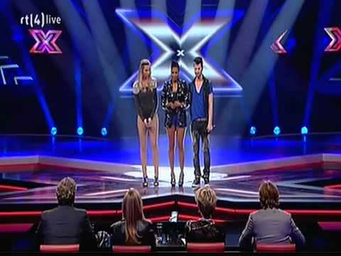 The X Factor 2011 - Liveshow 1 - Adlicious: Telephone