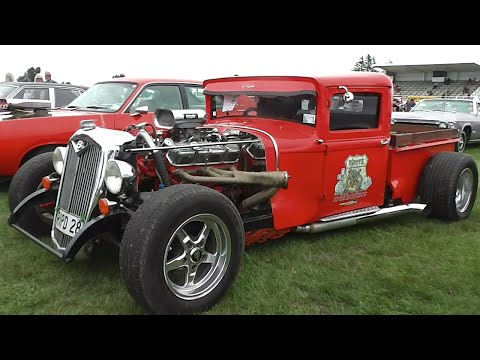 Street Machines, Hot Rods & Rat Rods at Muscle Car Madness 2016. from YouTube · Duration:  17 minutes 47 seconds