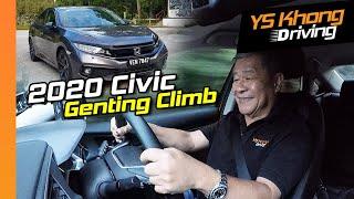 2020 Honda Civic 1.5 TCP [Genting Hillclimb] - Almost a Type R! | YS Khong Driving