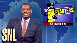 Weekend Update: Mr. Peanut Dies - SNL