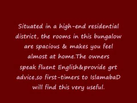Review by EdwiN KOO - NewCapeGrace Guest House Hotels in IslamabaD PakistaN