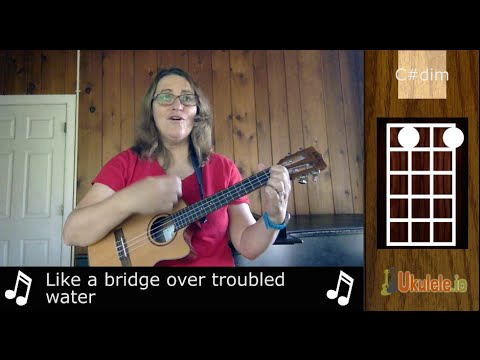Bridge Over Troubled Water - 21 Songs in 6 Days: Learn Ukulele the Easy Way