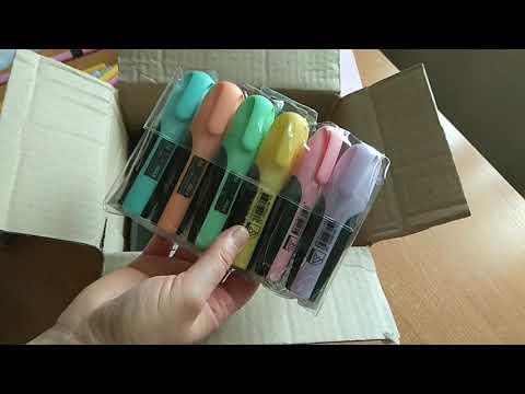 Набор ароматных маркеров для рисования Scentos Тонкая линия 10 цветов (40720)