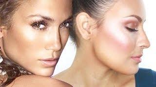 How to Get JLo's Glowy Skin