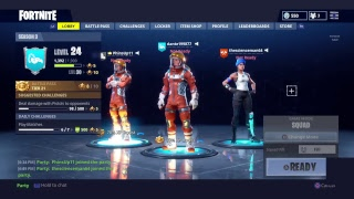 Fortnite game play ps4