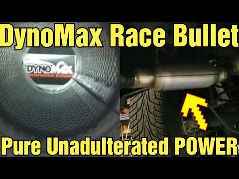 Ram 1500 Exhaust DynoMax Race Bullet Mufflers