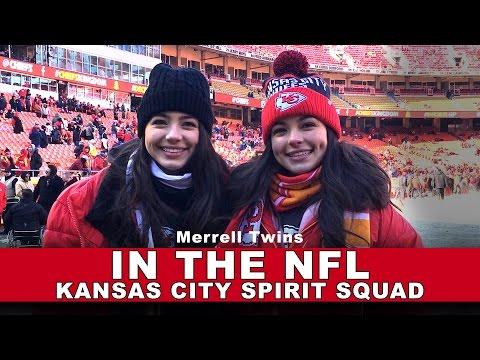 IN THE NFL/ Kansas City Spirit Squad - Merrell Twins