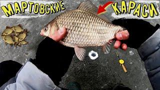 Рыбалка на мартовских Карасей
