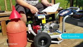 Simpson 3300 PSI Model PS60841 - Power Washer Unboxing