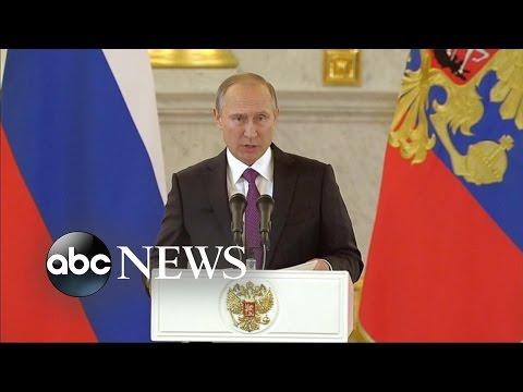 Vladimir Putin Hails Donald Trump's Victory