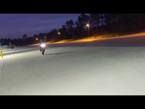 Stand up wheelie first time