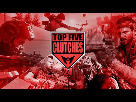 COD Top 5 SnD Clutches 24 - BO3 & 1v8 Clutch