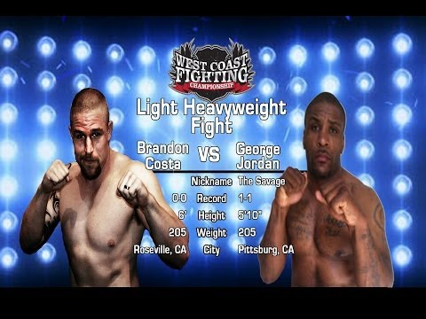 WFC 7 Brandon Costa vs  George Jordan
