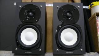KENWOOD LS-K521 2way speakers ♪ JAZZ SAX 1000円でヤクオク落札したスピーカー