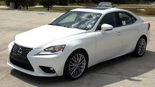 2015 Lexus IS 250 Full Review, Start Up, Exhaust