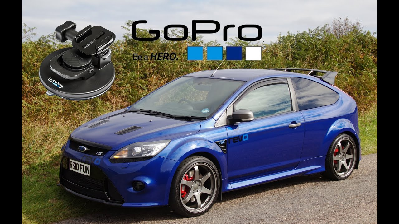 ford focus rs mk2 gopro suction cup 2 test youtube. Black Bedroom Furniture Sets. Home Design Ideas