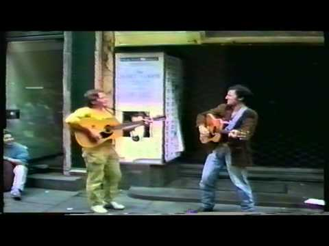 Bruce Springsteen Live on street in Copenhagen 1988 (Original Full Version)