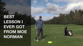 BEST LESSON I EVER GOT FROM MOE NORMAN-Shawn Clement's Wisdom in Golf