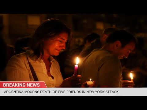 Argentina mourns death of five friends in New York attack