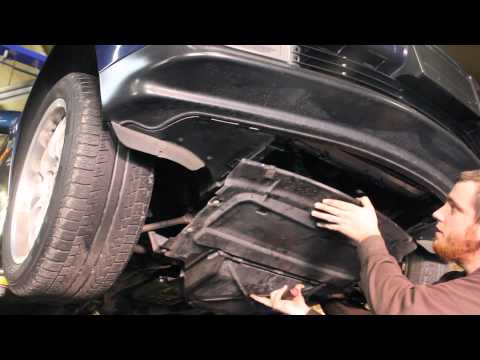 How to Remove Splash Shield BMW 7 Series