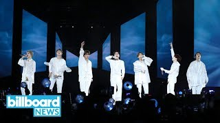 BTS to Make Big Screen Debut With 'Burn the Stage: the Movie' | Billboard News