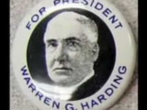 Warren G. Harding Commercial