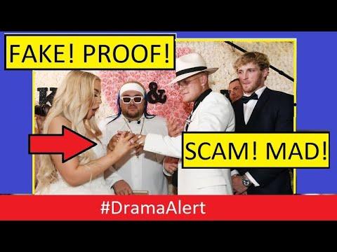 Jake Paul & Tana Mongeau Wedding SCAM! #DramaAlert Fans Demand REFUND!