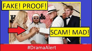 Jake Paul & Tana Mongeau Wedding SCAM! #DramaAlert Fans Demand REFUND!