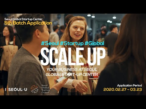 Seoul Global Startup Center 5th Batch Application