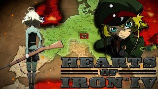 На зло Американцам / Hearts of Iron IV Youjo Senki (Военная хроника маленькой девочки) / 4 серия